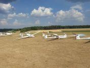 Die D6 in der Startaufstellung in Leibertingen