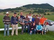 Teilnehmer und Betreuer eines Schnupperkurses