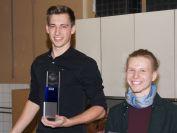 die Gewinner der Juniorenwertung (v.l.):
