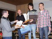 Siegerehrung Vereinswettbewerb 2015