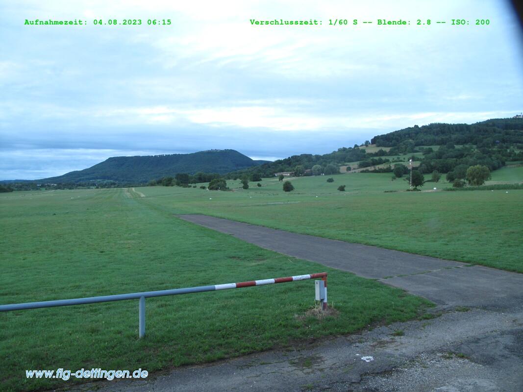 Flugplatz Dettingen offline